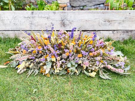 Dried Farewell Flowers