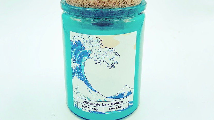 Message in a Bottle Soy Candle