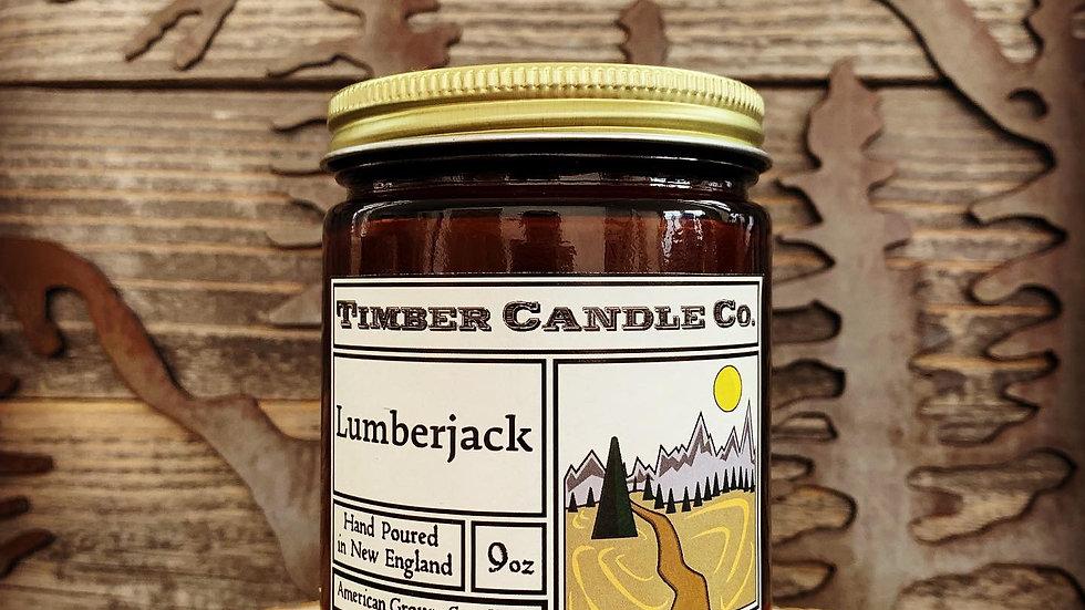 Timber Candle Lumberjack