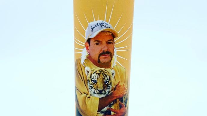 Joe Exotic Prayer Candle