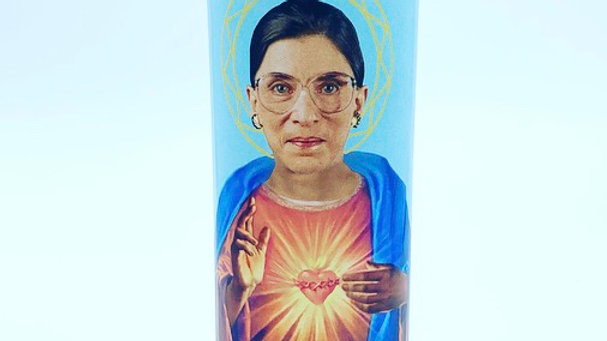 Saint RBG Prayer Candle