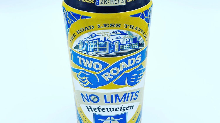 16oz Two Roads Brewing No Limits