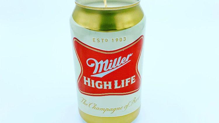 12oz Miller High Life CANdle
