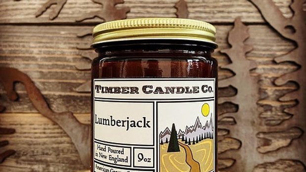 Timber Candle Lumberjack (for Troop 121!)