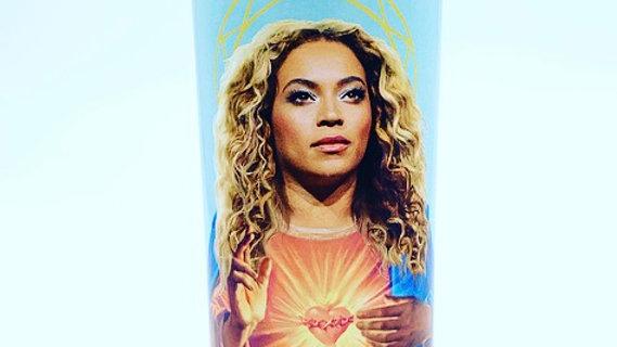 16oz Saint Beyoncé Prayer Candle
