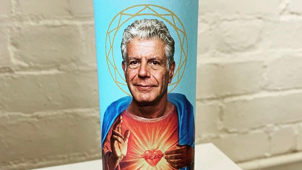 Saint Bourdain Prayer Candle