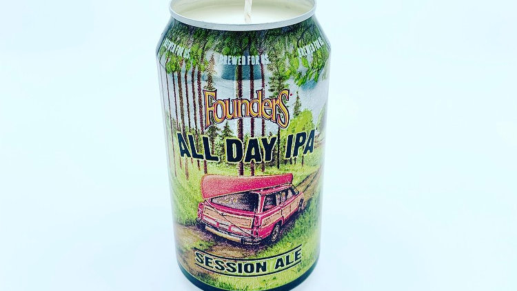 12oz All Day IPA CANdle