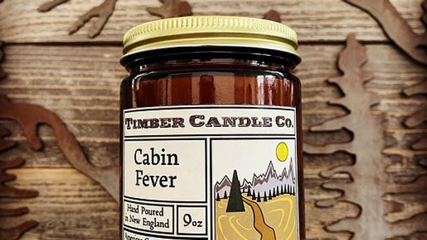 Timber Candle Cabin Fever(for Troop 121!)