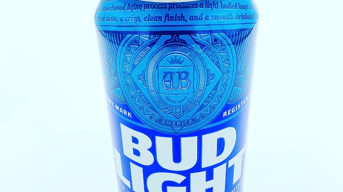 12oz Bud Light CANdle
