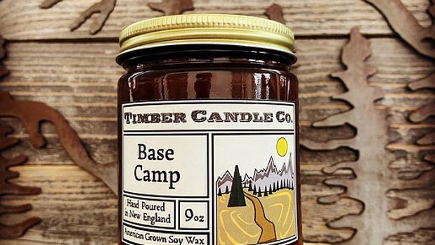 Timber Candle Base Camp (for Troop 121!)