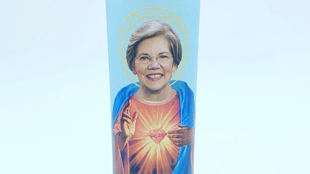 Saint Warren Prayer Candle