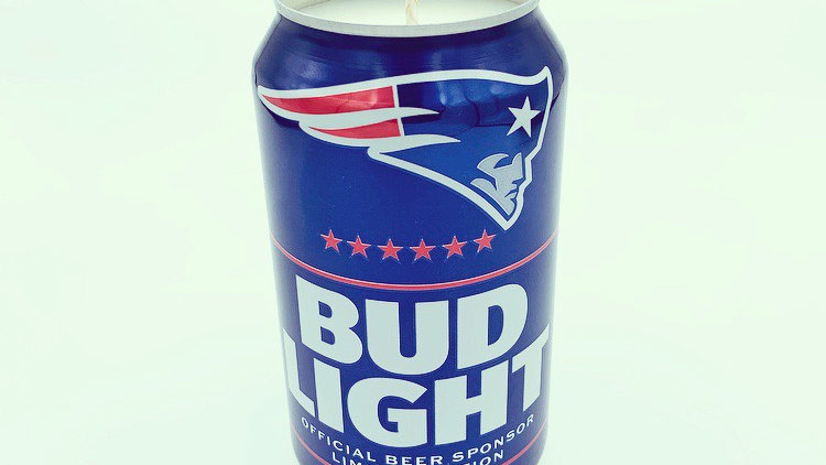 Bud Light Patriots Soy Candle