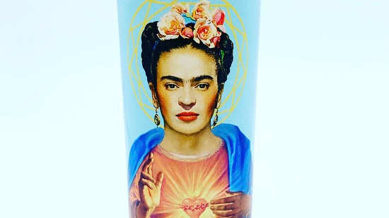 16oz Saint Frida Prayer Candle