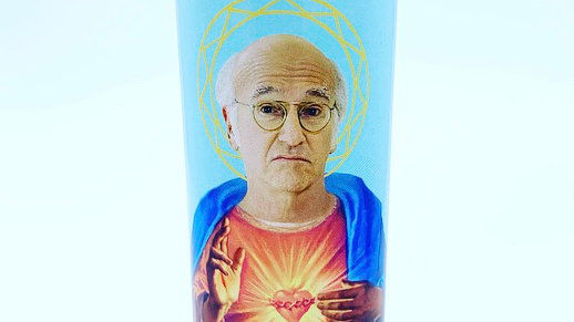 Saint Larry David Prayer Candle