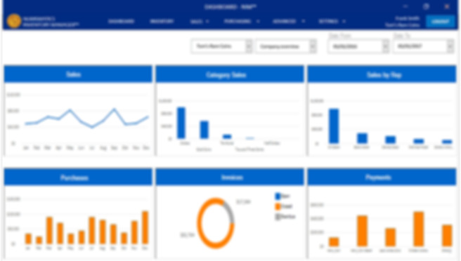 Numismatics Inventory Manager Dashboard