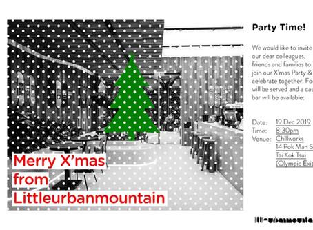 Merry X'mas from Littleurbanmountain!