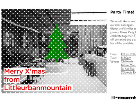 Merry X'mas from Littleurbanmountain!