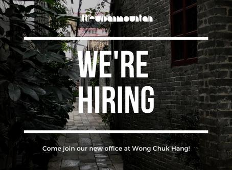 Littleurbanmountain is hiring!