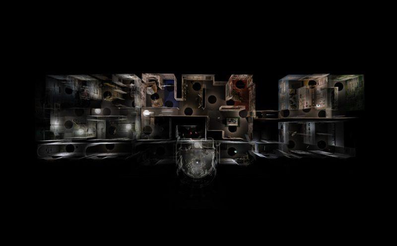 3D Scan Image of Bartlett Summer Show
