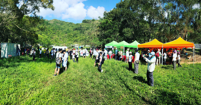 Opening Ceremony of Plantation Enrichment Project