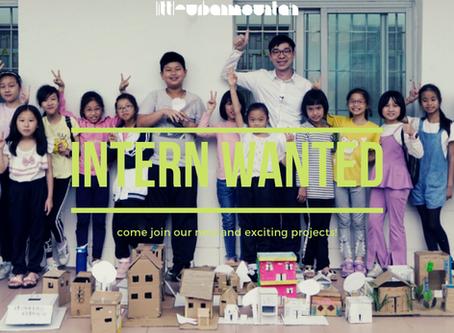 Intern Wanted!