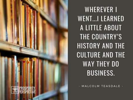 How to Expand Your Business into International Markets with Malcolm Teasdale