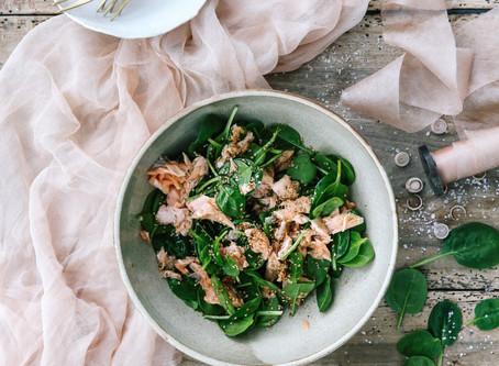 Asian Inspired Salmon Salad