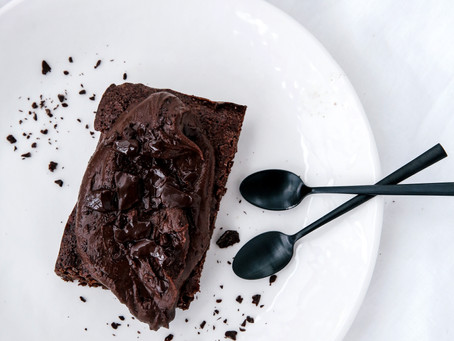 MOIST DOUBLE CHOCOLATE BROWNIES
