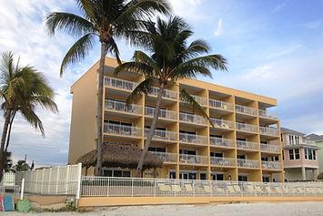 Beach view of Kahlua Beach Club