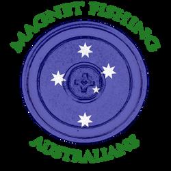 Magnet Fishing Australians Logo