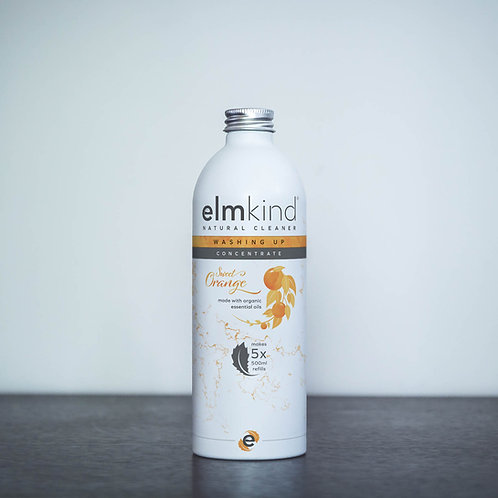 elmkind Sweet Orange Washing Up Liquid -Refill Concentrate -500ml