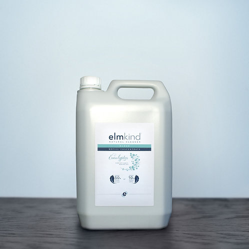 elmkind Eucalyptus Glass Cleaner - Refill Concentrate - 5 Litre