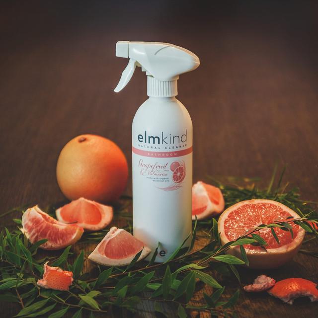Elmkind Natural Cleaner - Grapefruit & Palmarosa - Bathroom