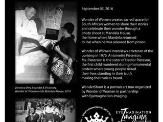 #WonderShootSA at Mandela House
