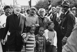 Abernathy_Children_on_front_line_leading_the_SELMA_TO_MONTGOMERY_MARCH_for_the_R