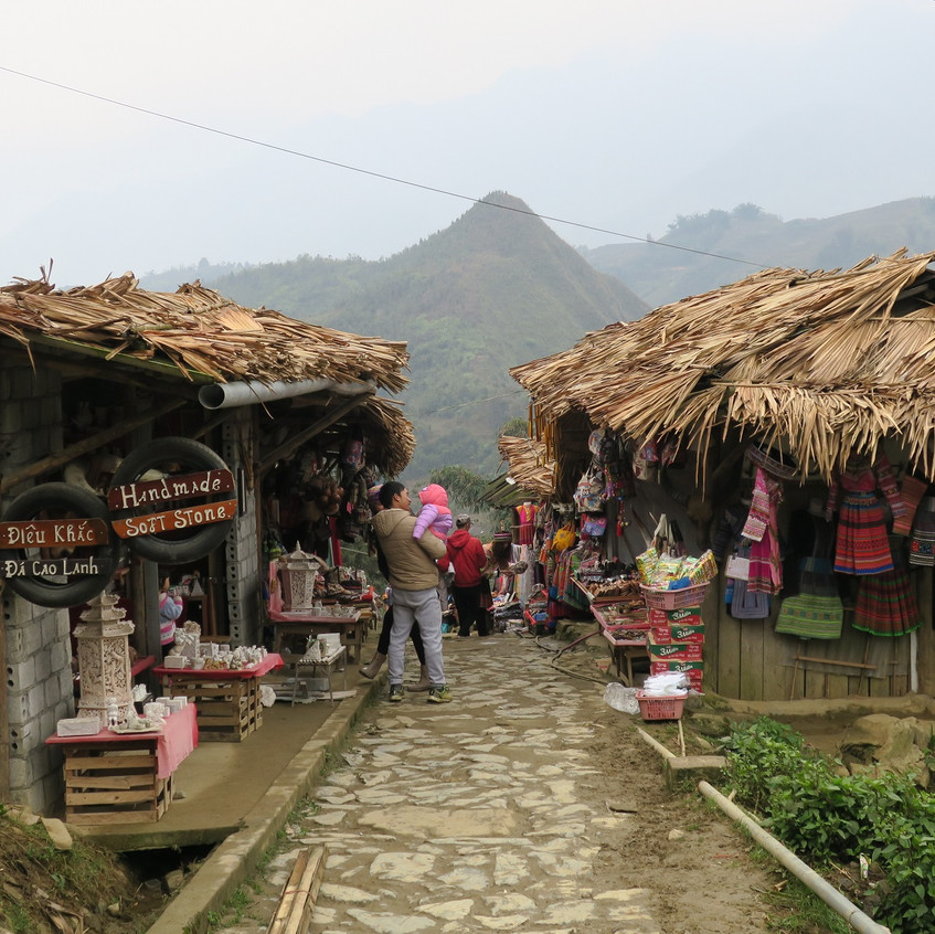Traditional village, CatCat