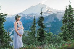 Maternity in mountains, Tiffany Burk
