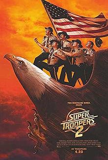 Super Troopers 2, Sean Patrick Burke, 22