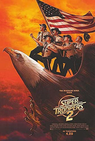 Super Troopers 2, Sean Patrick Burke, 22
