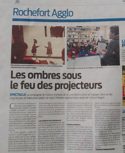 Sud-Ouest, Avril 2019