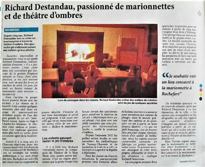 Hebdo Charente-Maritime, Avril 2017