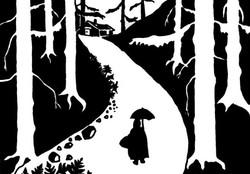 Seule dans les bois...