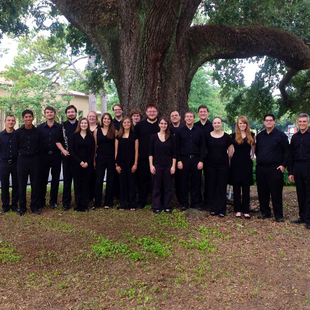 MTSU Clarinet Choir at ClarinetFest 2014 in Baton Rouge