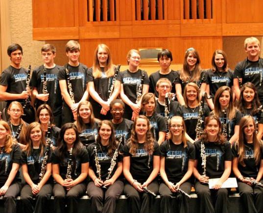 2012 High School Honors Clarinet Choir