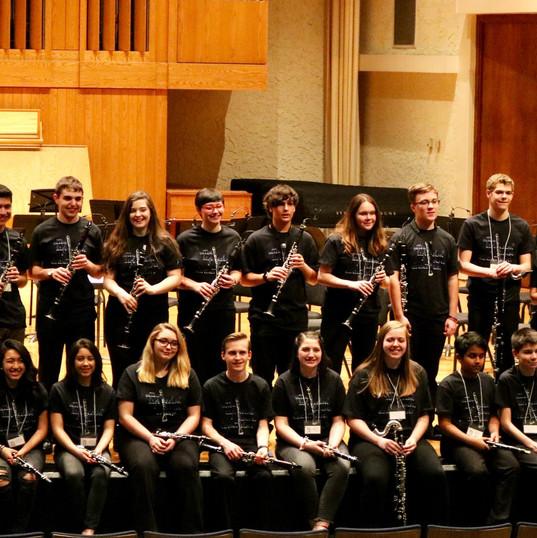 2018 High School Honors Clarinet Choir