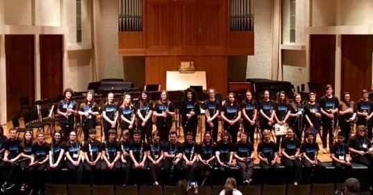 2017 High School Honors Clarinet Choir
