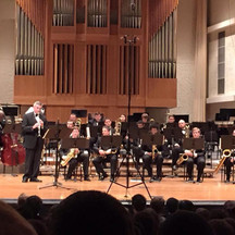 """Dr. Waldecker playing Artie Shaw's """"Concerto for Clarinet"""""""