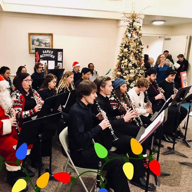 MTSU Clarinet Choir Christmas Concert at St. Mark's UMC in Murfreesboro