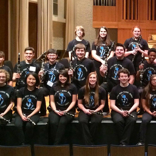 2015 High School Honors Clarinet Choir