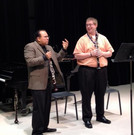 Jonathan Copeland playing for Ricardo Morales at ClarinetFest '12